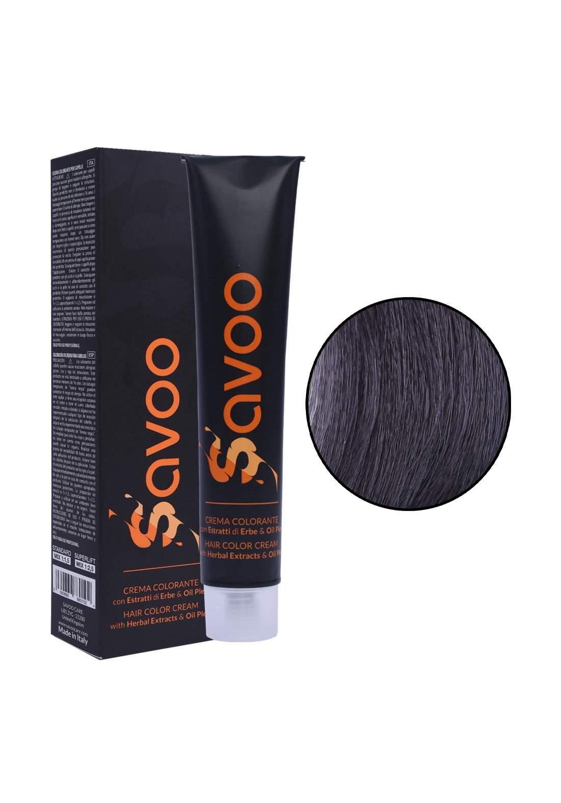 Savoo Hair Color Cream No.5.003 Light Warm Natural Brown 100ml صبغة الشعر