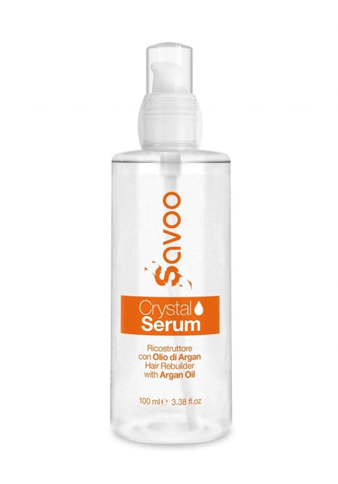 Savoo Crystal Serum Ricostruttore for Hair 100ml سيرم للشعر