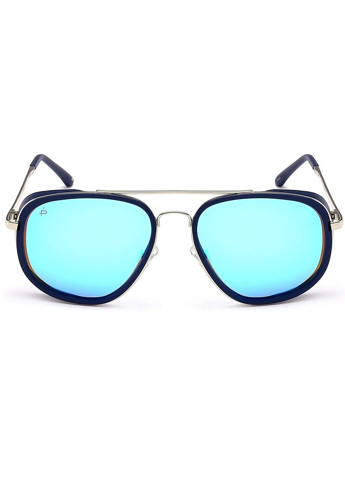 ازرق اللون Prive Revaux نظارات شمسية رجالية من