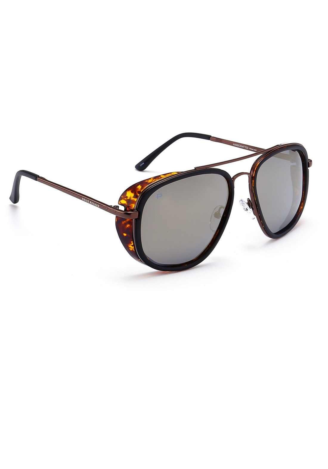 بني اللون Prive Revaux نظارات شمسية نسائية من
