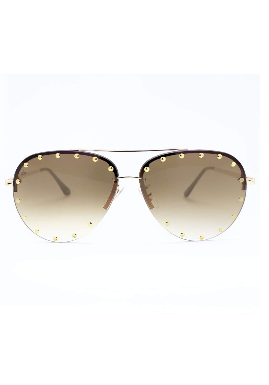 نظارة نسائية من Prive Revaux The Sixthman بني اللون