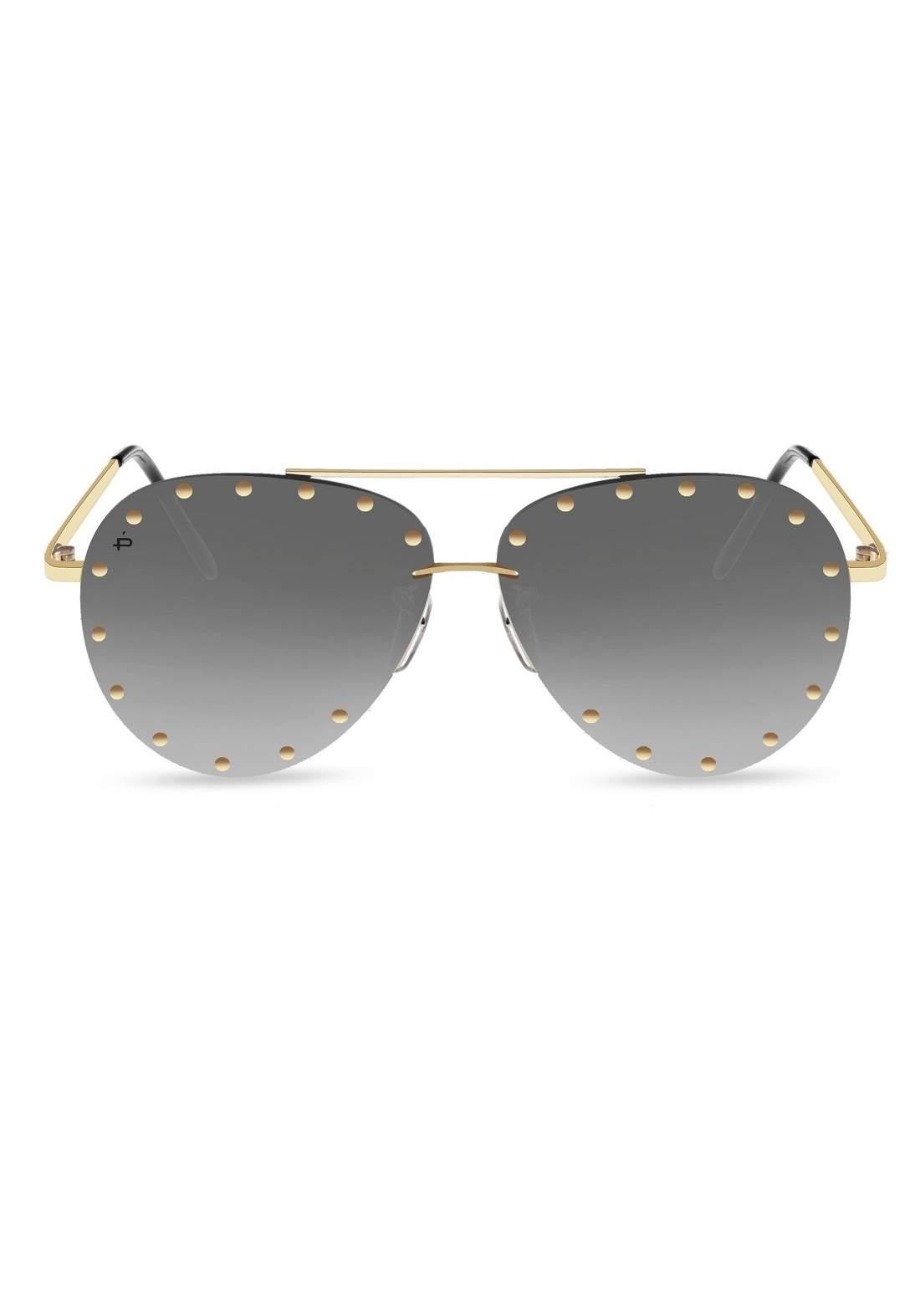 اسود اللون  Prive Revaux The Sixthman نظارات شمسية نسائية من
