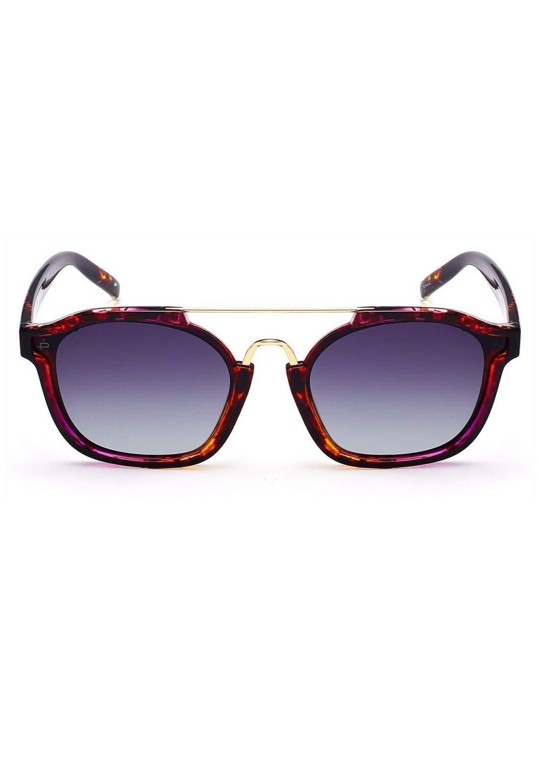 بني اللون Prive Revaux The Underdog نظارات شمسية نسائية من