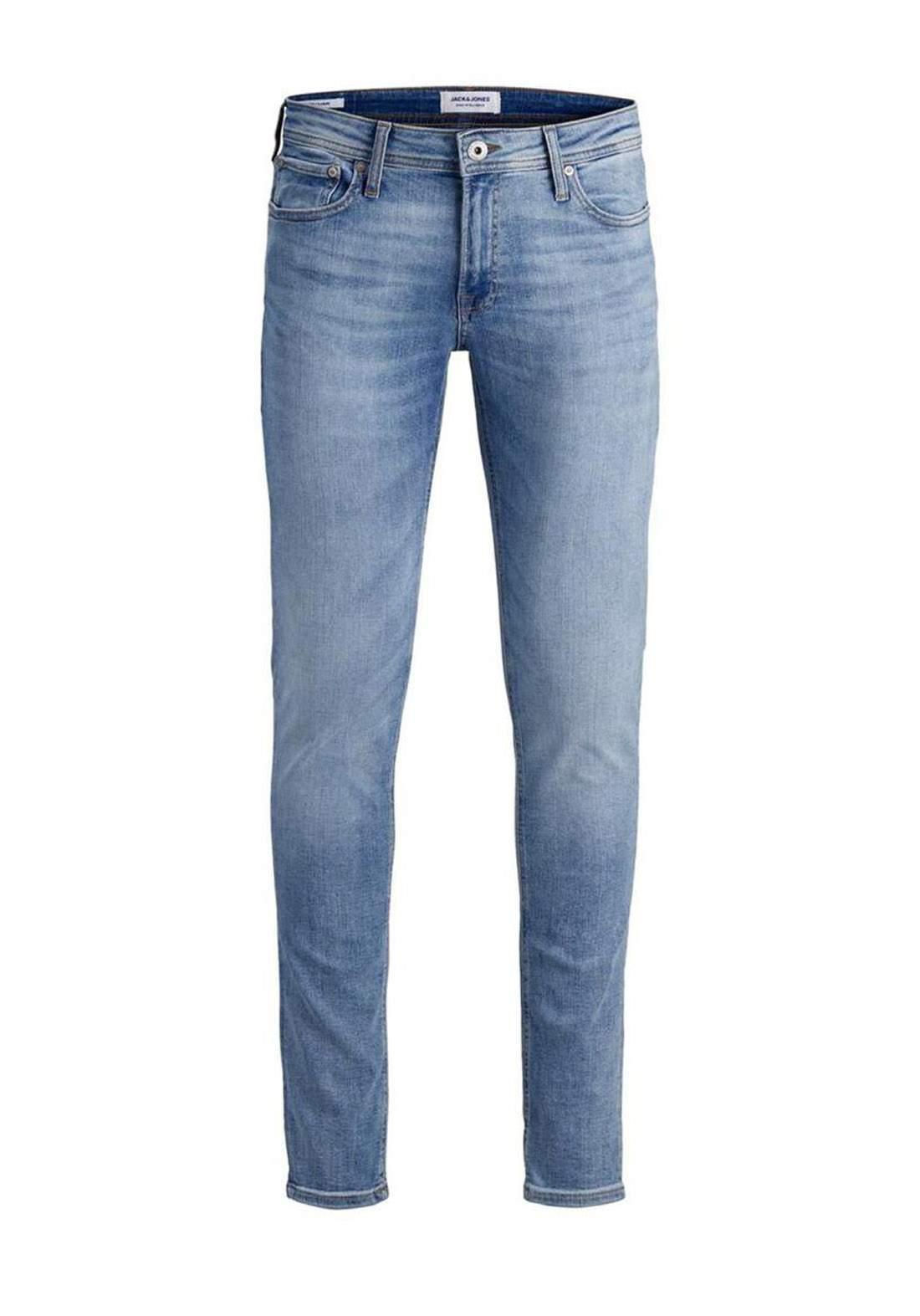 بنطلون جينز رجالي ازرق فاتح اللون من Jack & Jones