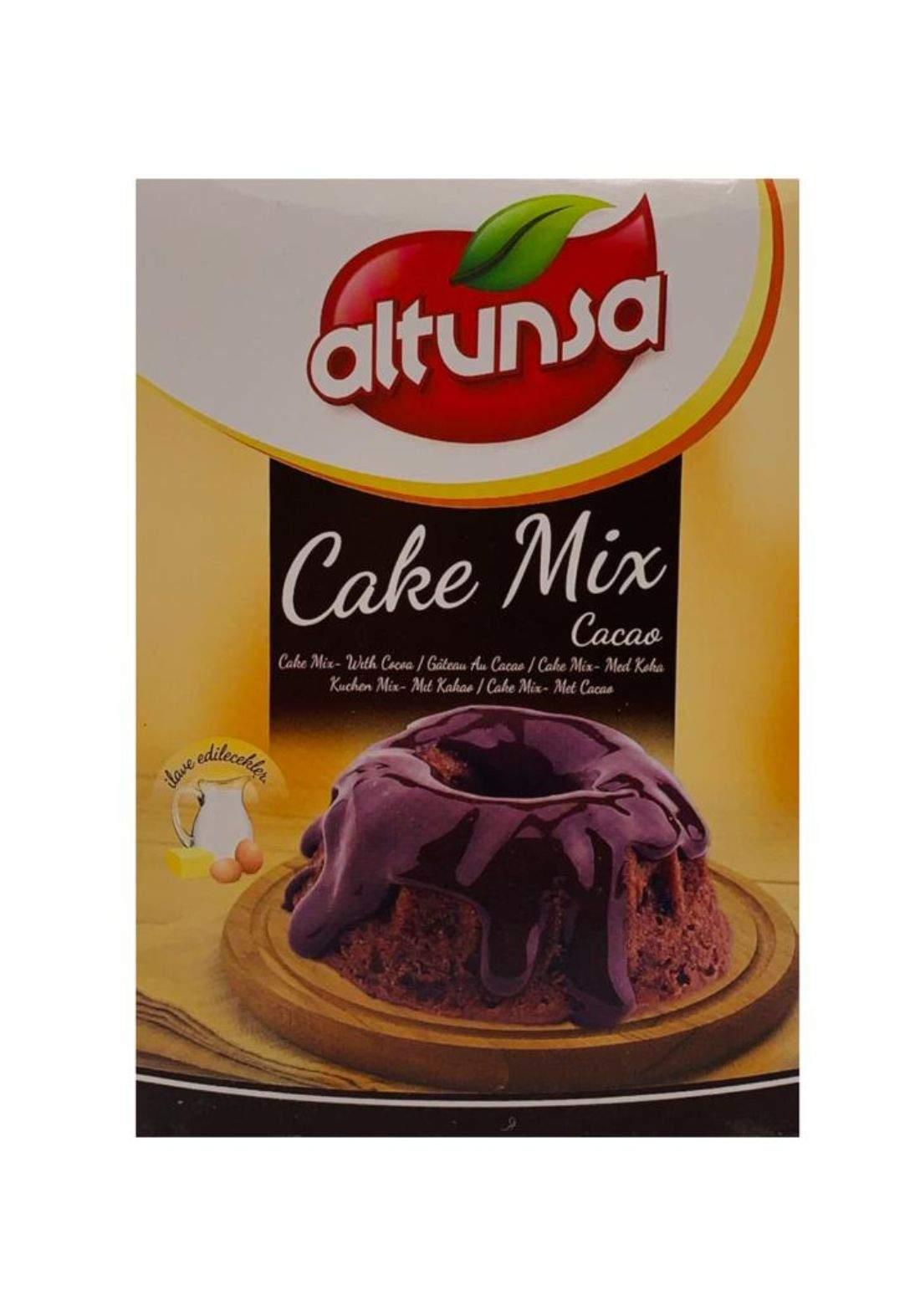 Altunsa  Chocolate cake mix 500g التون سا خليط كيك بالشوكولا