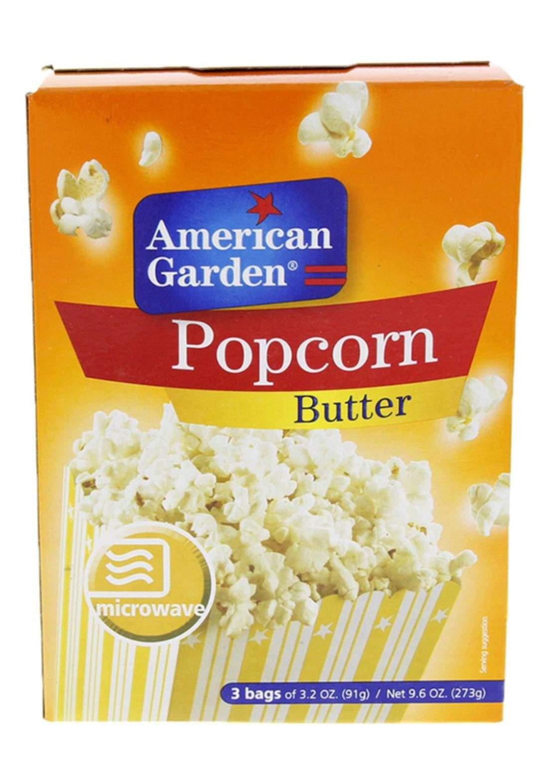 Popcorn with butter فُشار سريعة التحضير مع زبدة