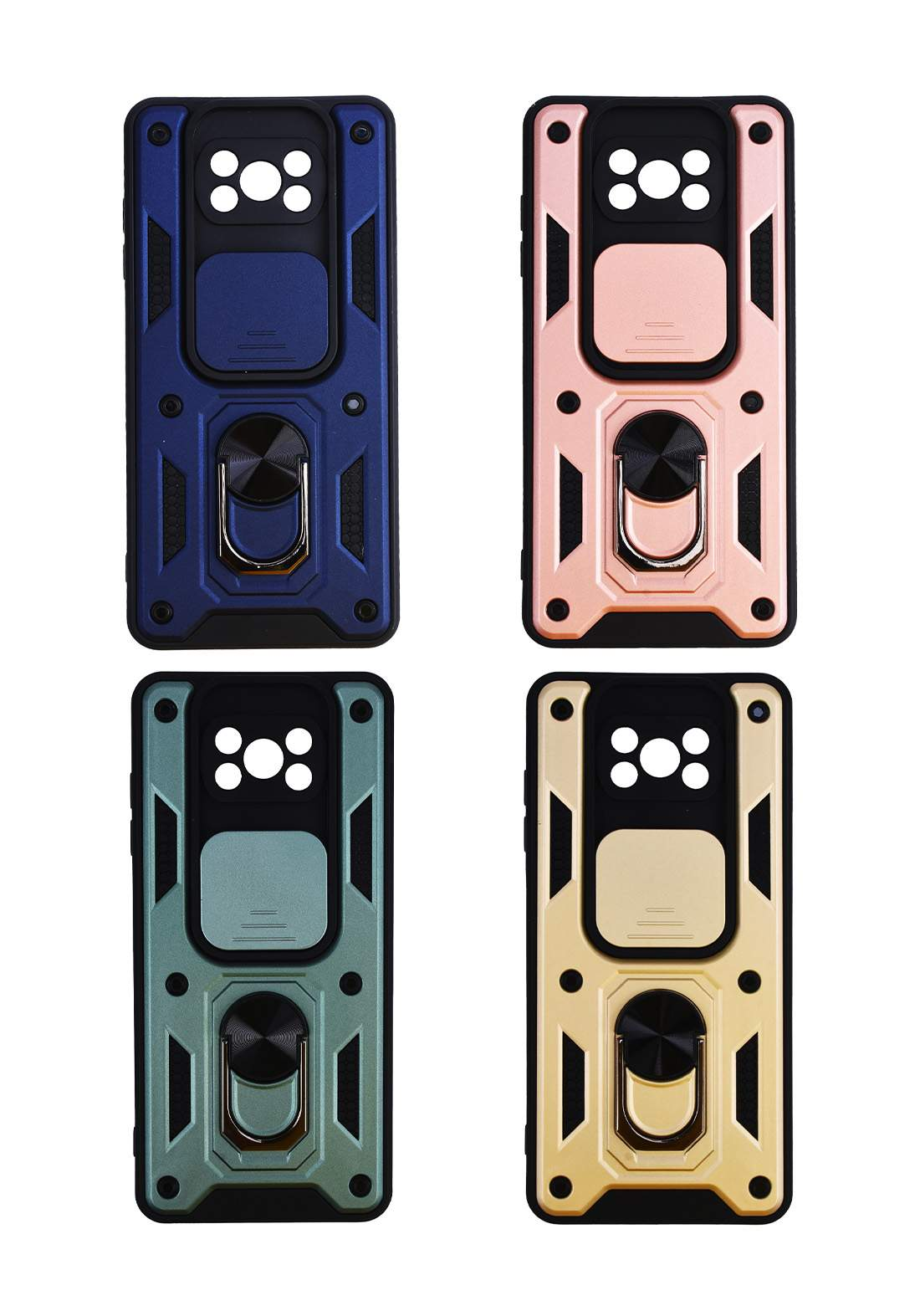 Protective Cover For Poco X3 Pro Hard Case  حافظة موبايل