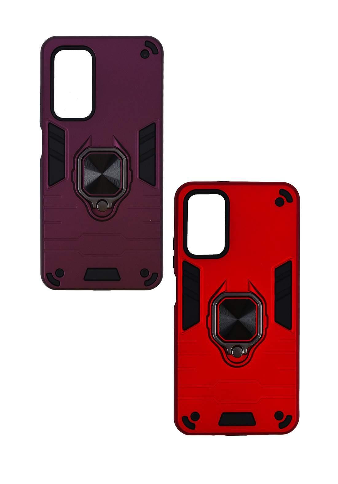 Protective Cover For Poco M3 Redmi 9T Hard Case  - Red حافظة موبايل