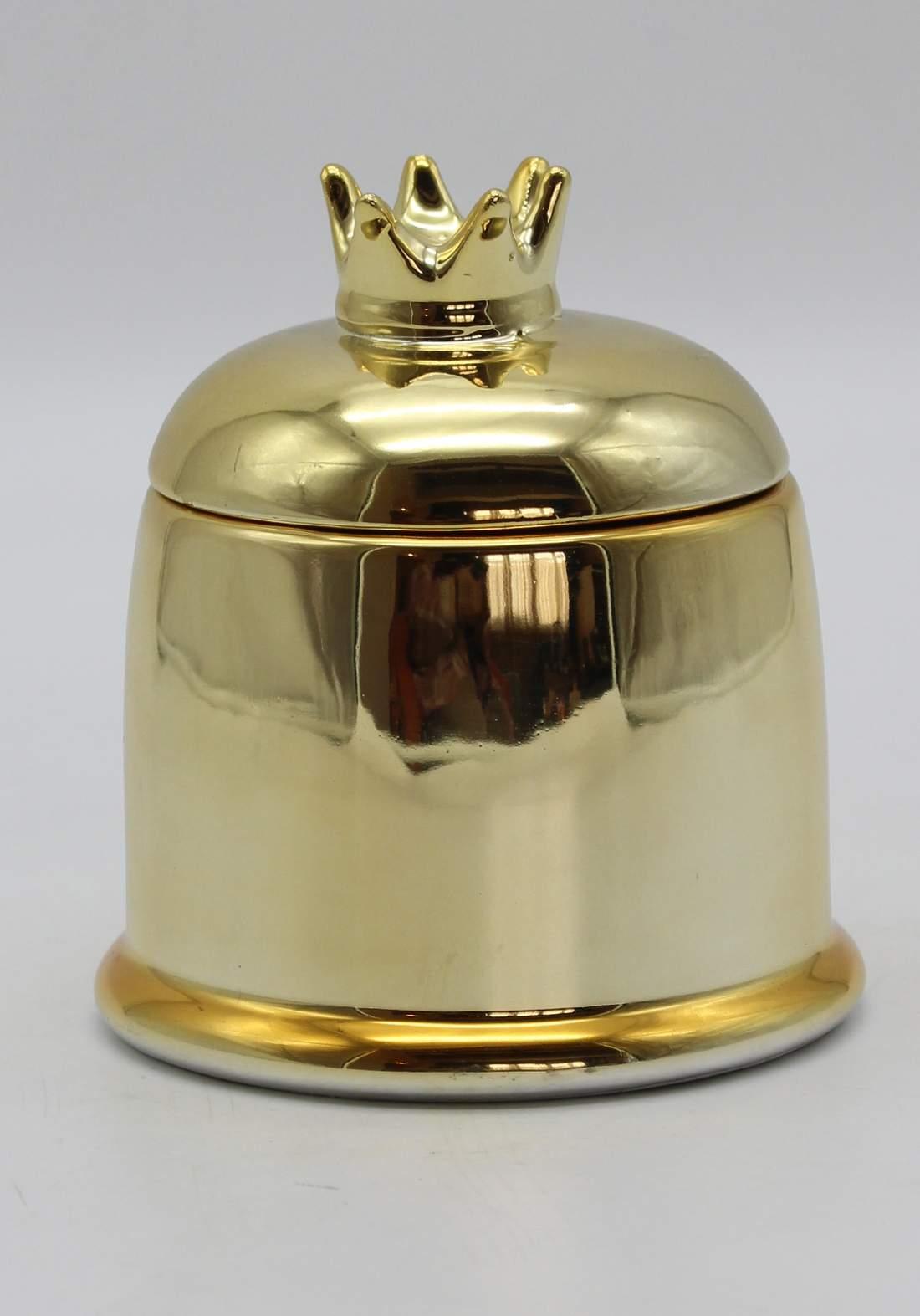 شمع معطر غلاف علبة شكل نجمة-Gold