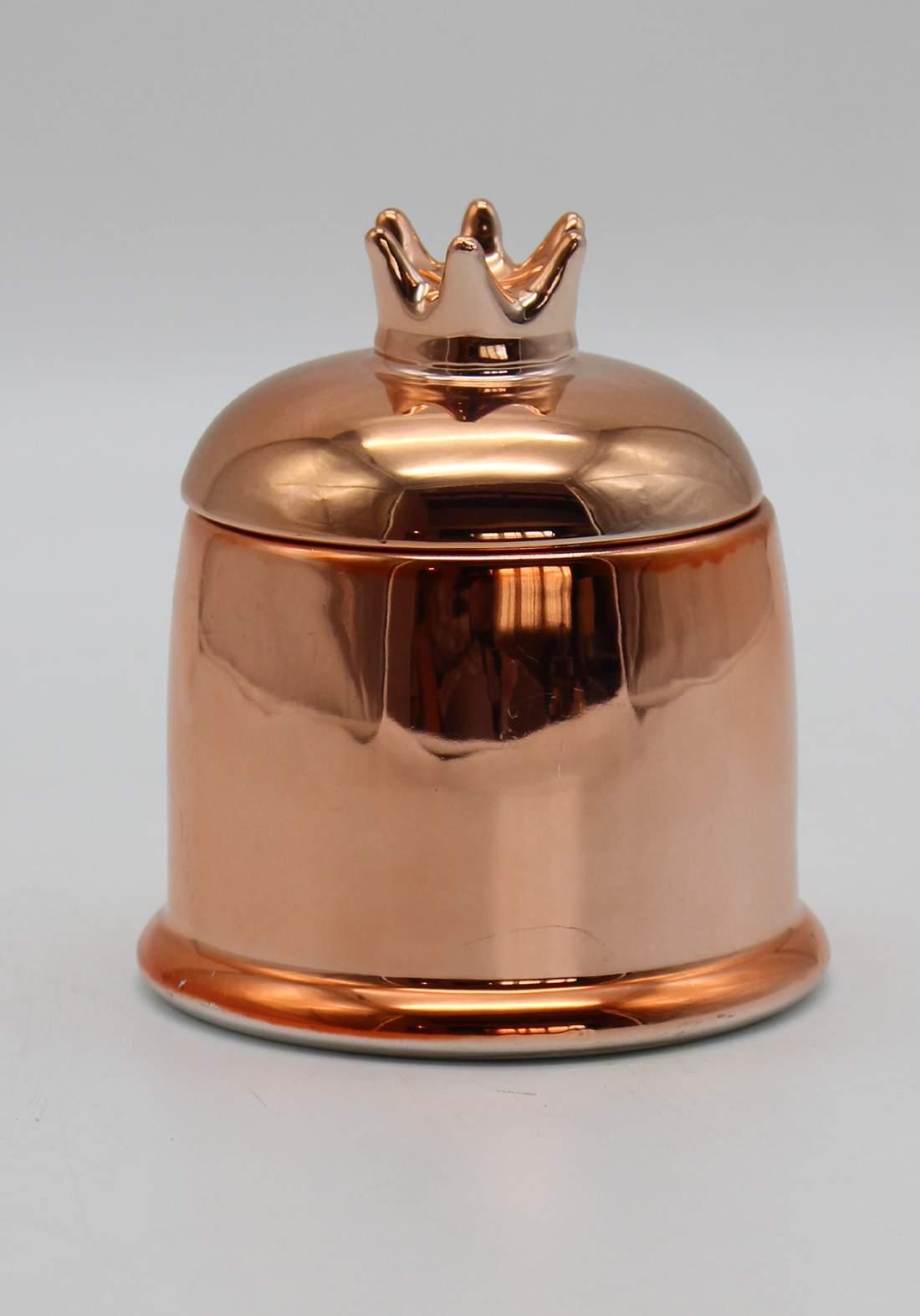 شمع معطر غلاف علبة شكل نجمة-Bronze