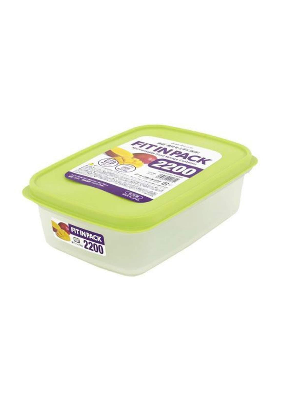 حافظة طعام  اخضر اللون 2200 مل D-5800