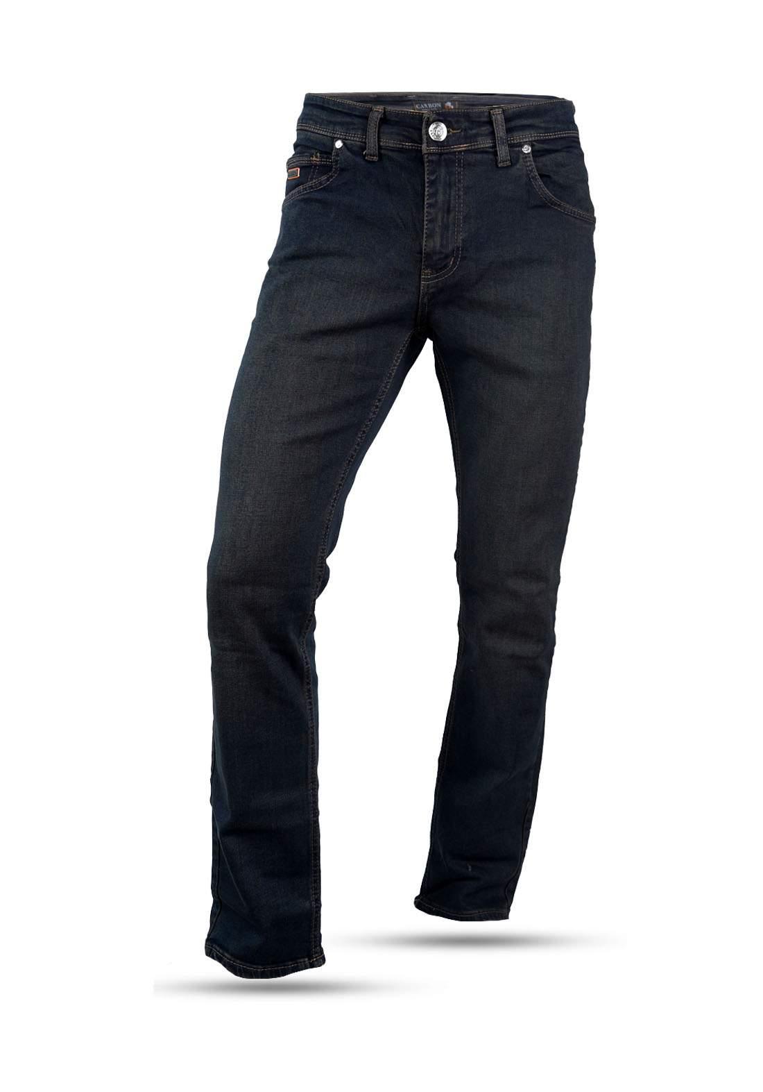 بنطلون جينز رجالي نيلي اللون