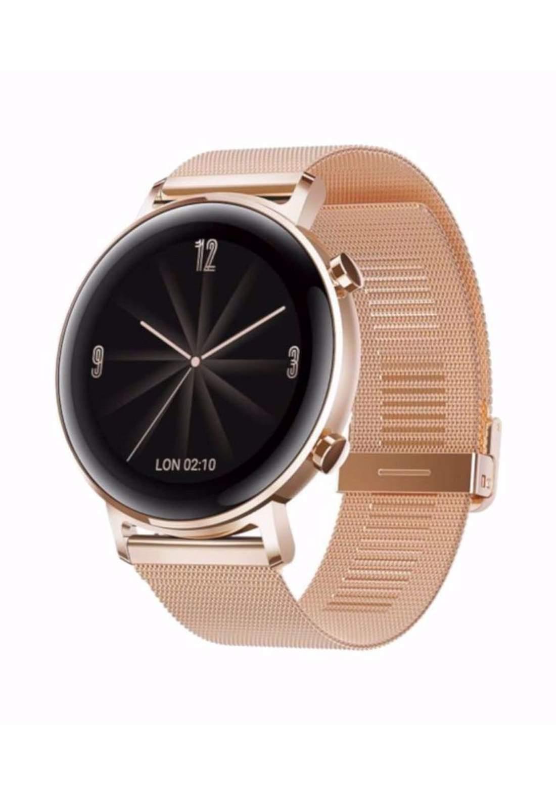 Huawei Watch GT2 Bluetooth Smart Watch - Rose Gold ساعة ذكية
