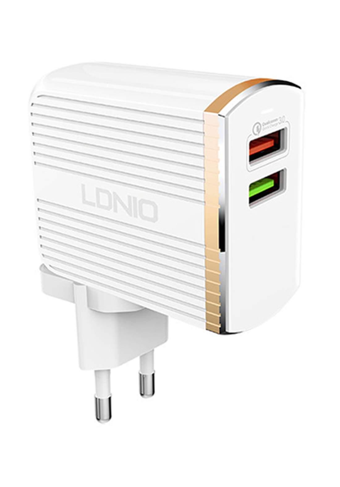 Ldnio A2502q Convert Design Travel Charger-White