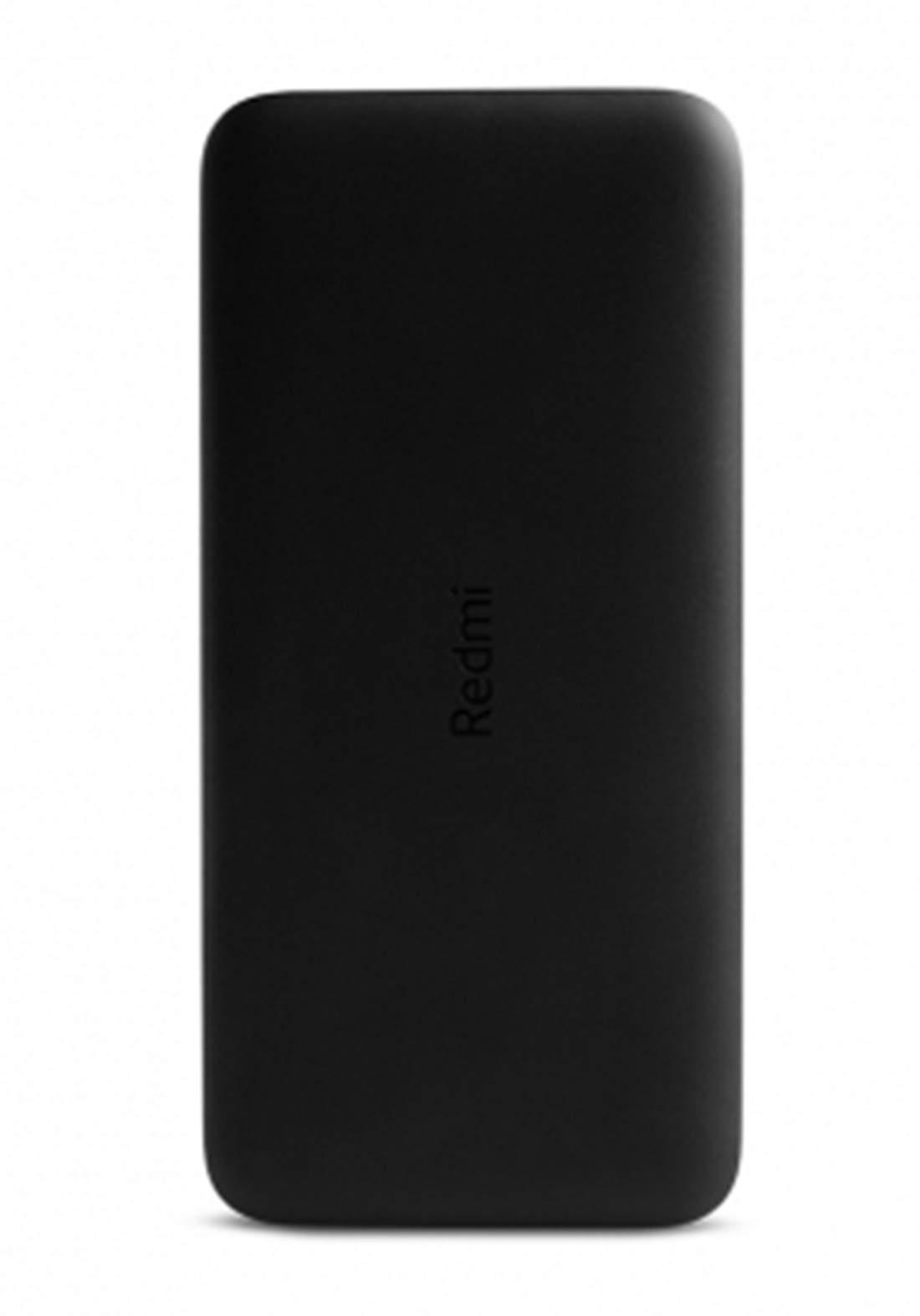 Xiaomi Redmi  Fast Charging 20000mAh 18W Power Bank- Black