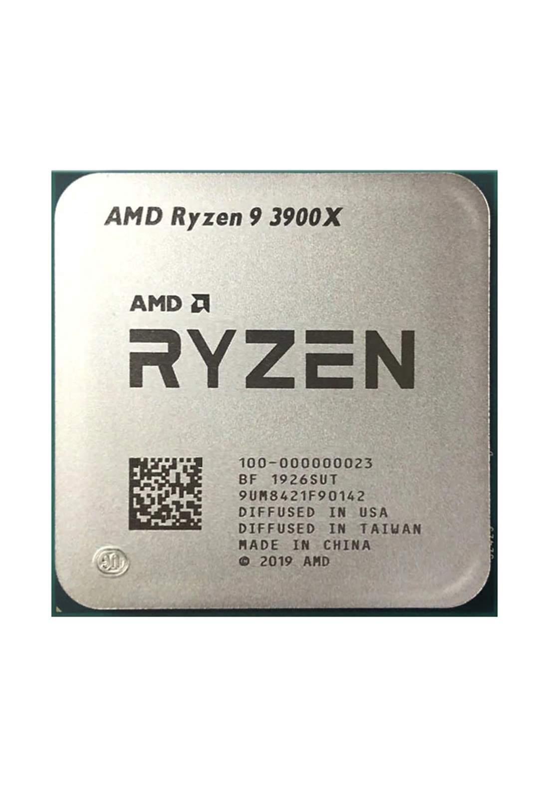 AMD R9 3900X 100-100000023 Tray OEM معالج