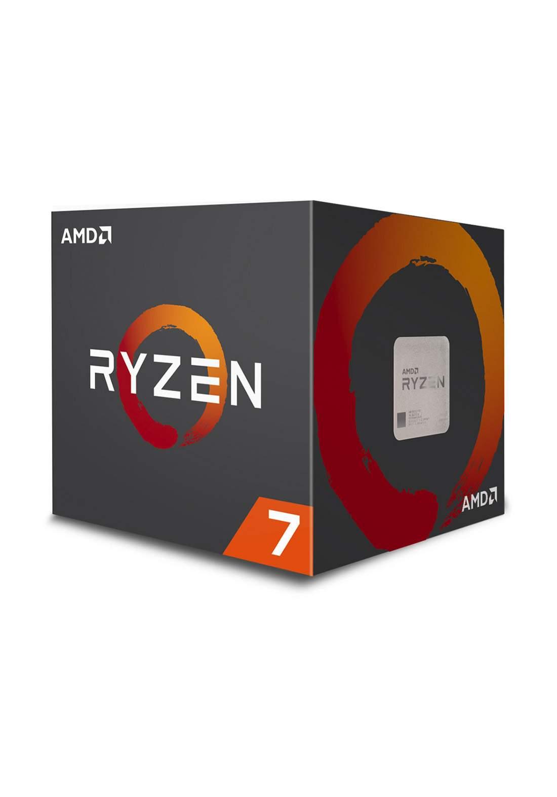 AMD R7 2700X Eight-Core AM4 Processor Box سيت معالج