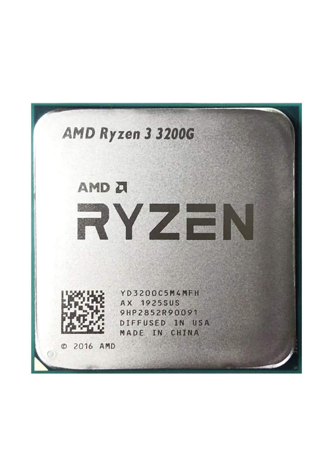 AMD R3 3200G CPU Processor Tray معالج