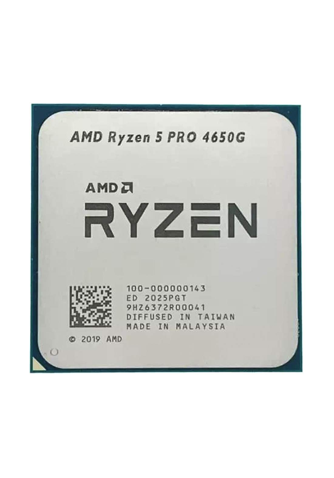 AMD R5 4650G CPU Processor Tray معالج