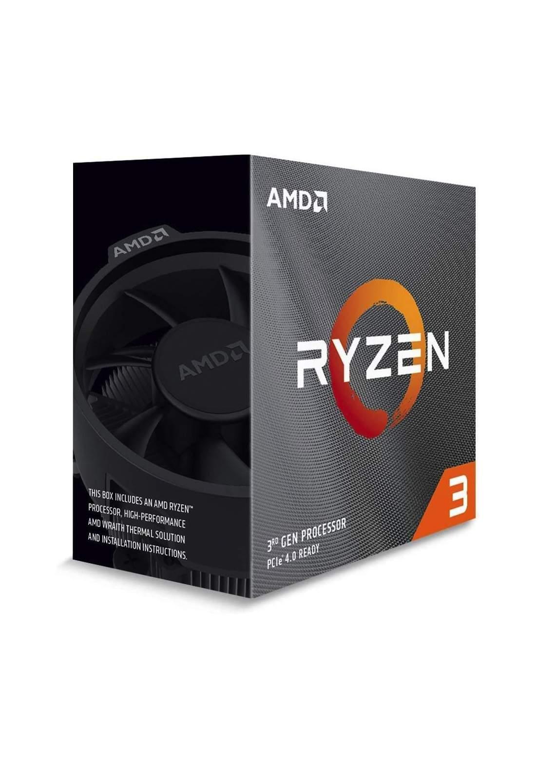 AMD R3 3100 CPU Processor Box  سيت معالج