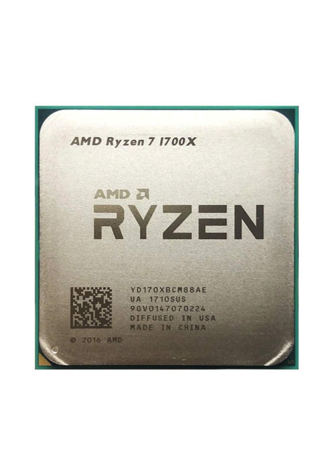 AMD R7 1700X CPU Processor Tray معالج
