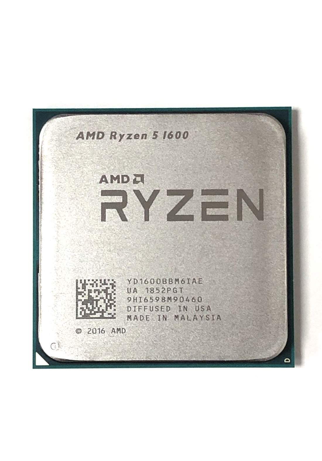AMD R5 1600 CPU Processor Tray معالج