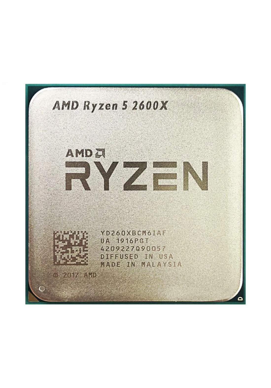 AMD R5 2600X CPU Processor Tray معالج