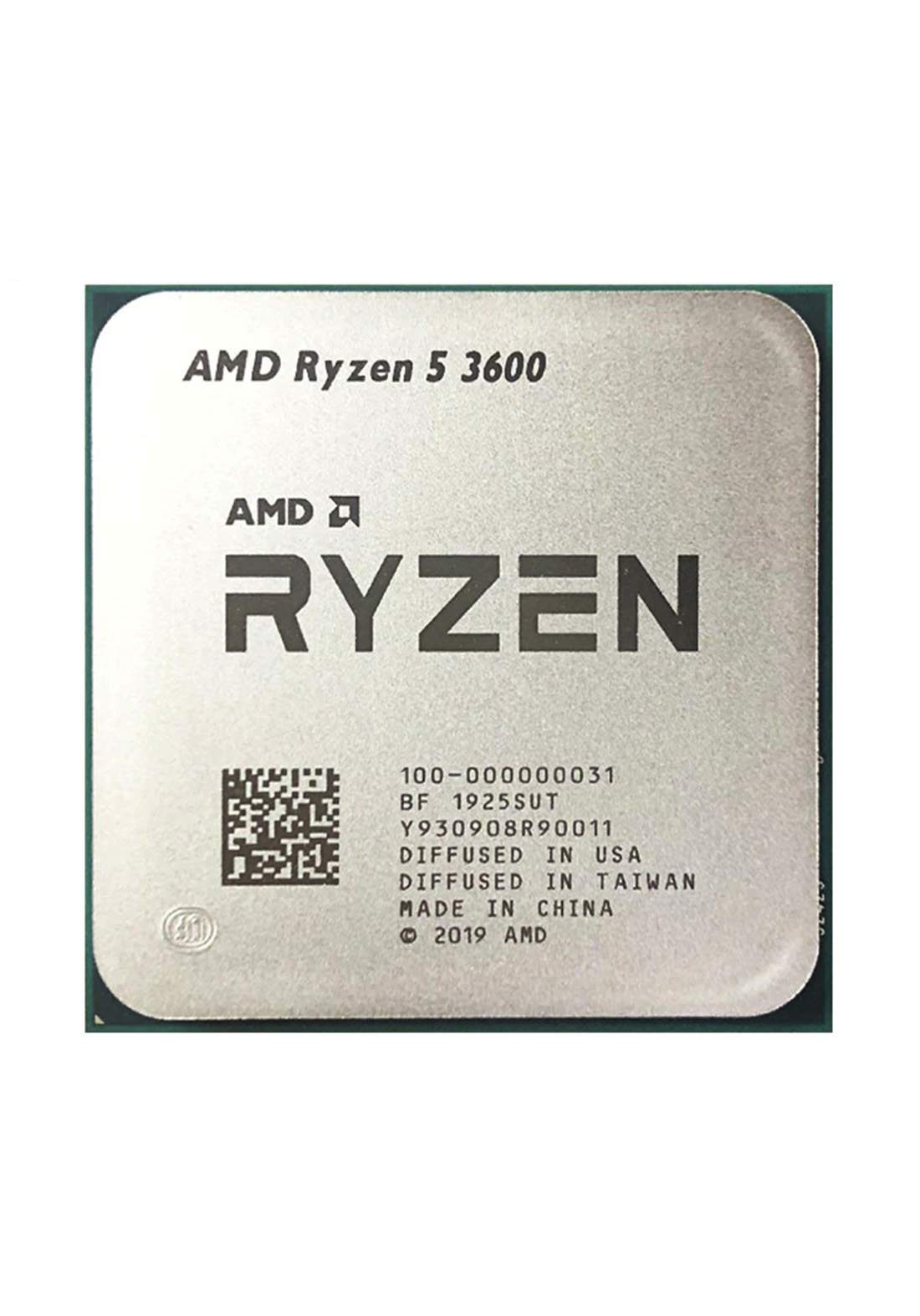 AMD R5 3600 CPU Processor Tray معالج