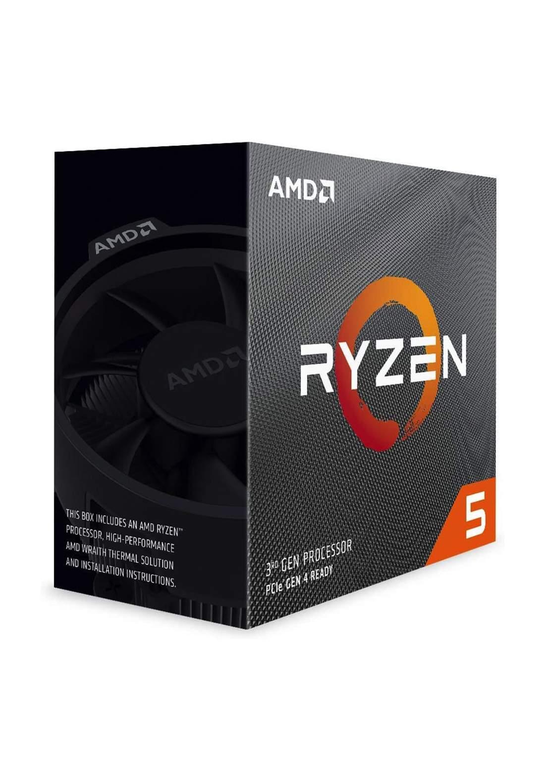 AMD R5 3600 CPU Processor Box  سيت معالج