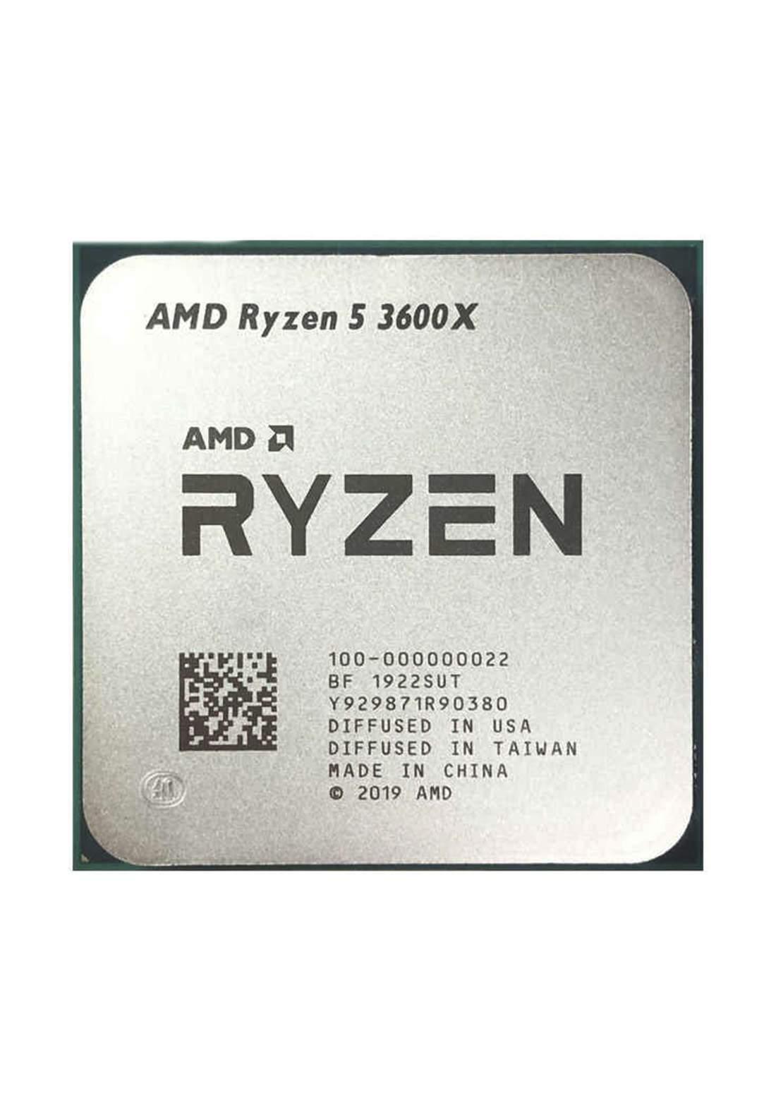 AMD R5 3600X CPU Processor Tray معالج