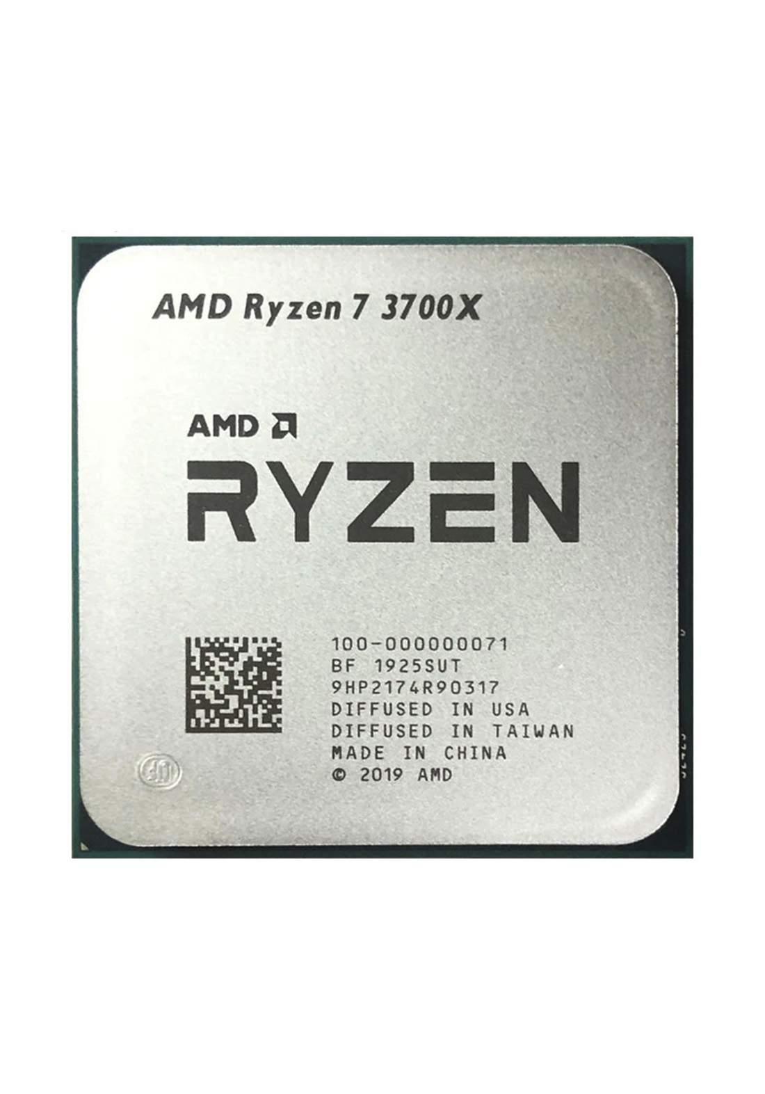 AMD R7 3700X CPU Processor Tray معالج