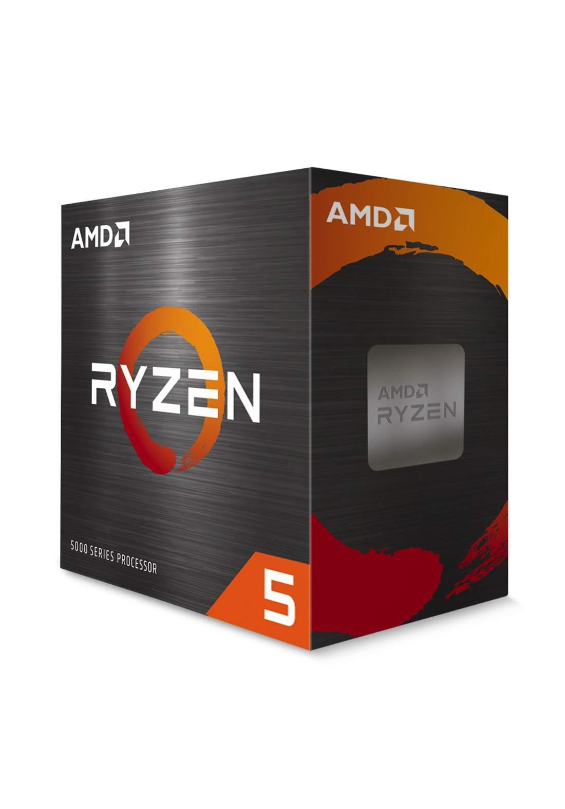 AMD R5 5600X CPU Processor Box  سيت معالج