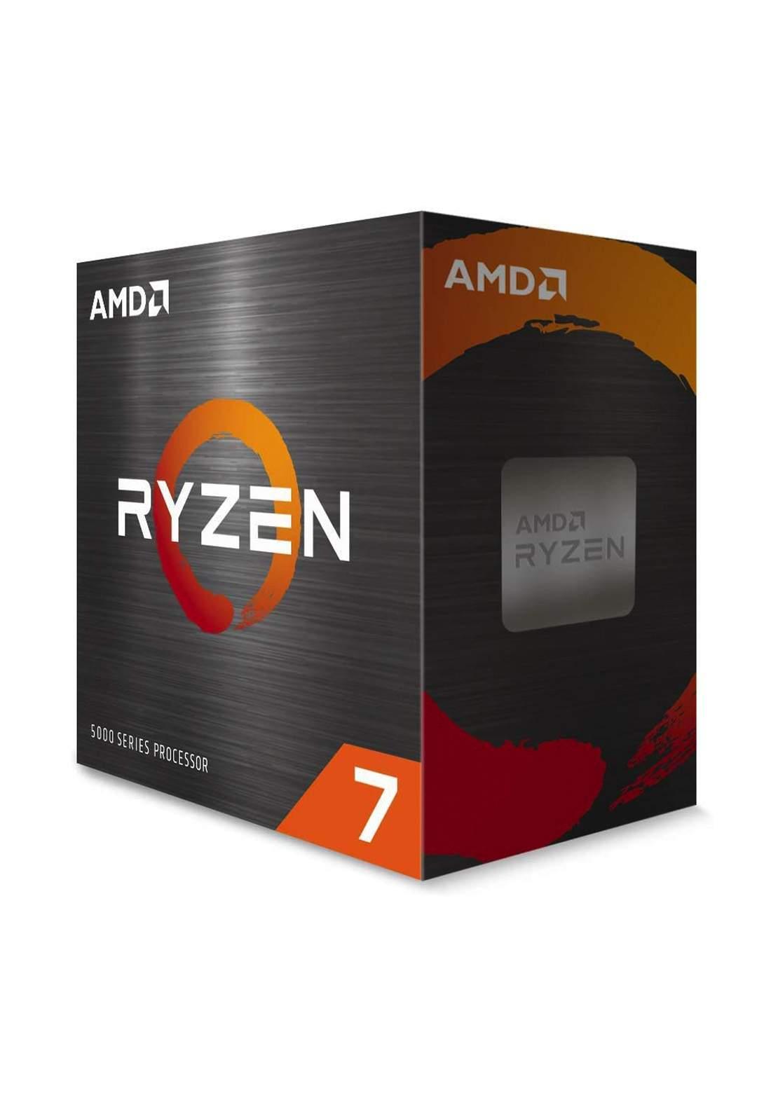 AMD R7 5800X CPU Processor Box  سيت معالج