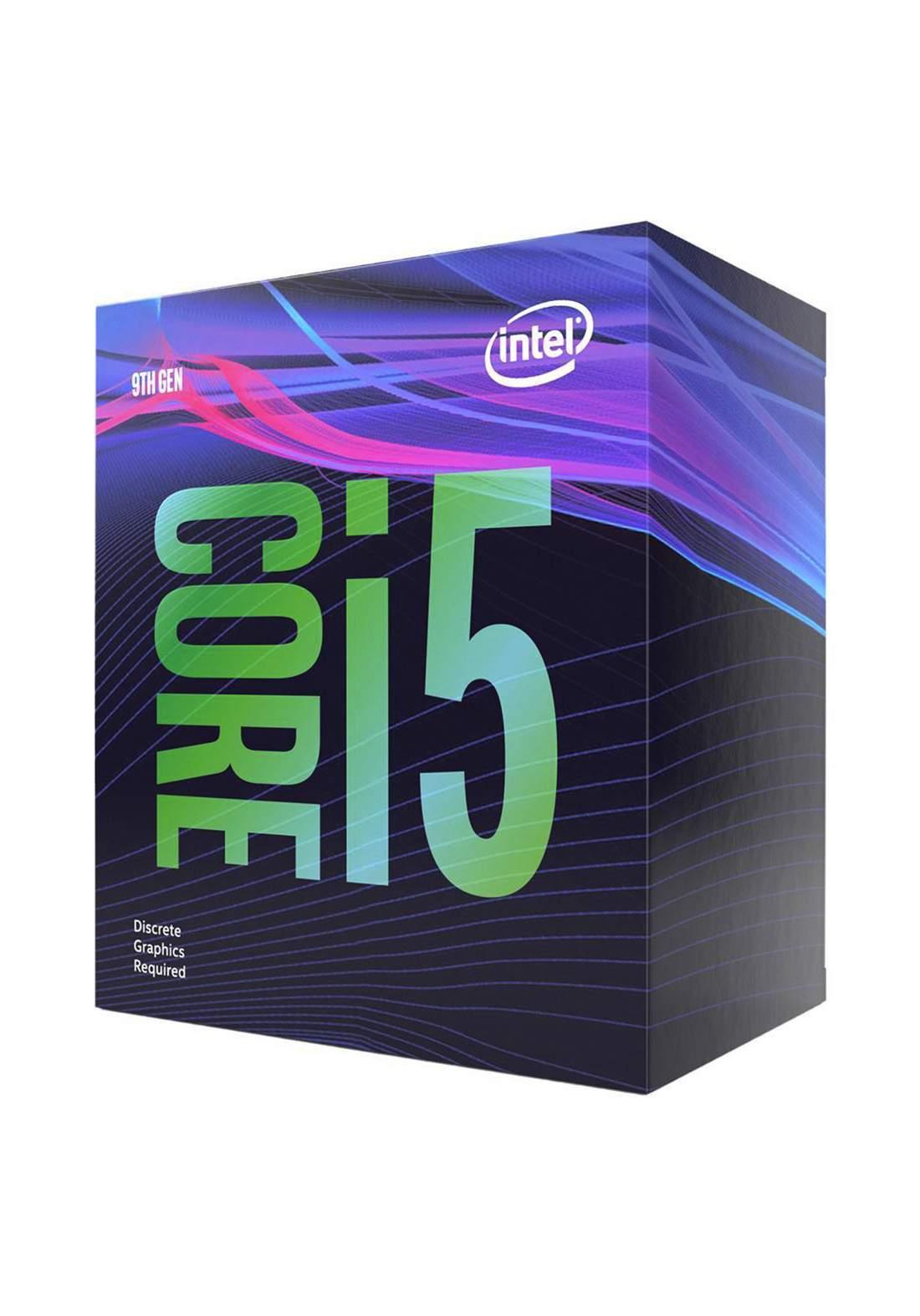 Intel Ci5 9400F CPU Processor Box  سيت معالج