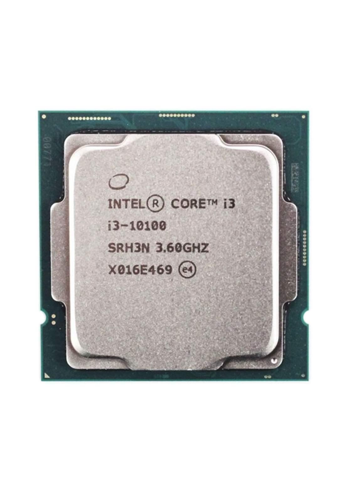 Intel Ci3 10100  CPU Processor Tray معالج