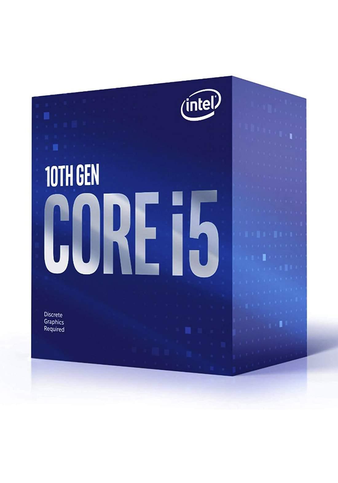 Intel Ci5 10400F CPU Processor Box  سيت معالج
