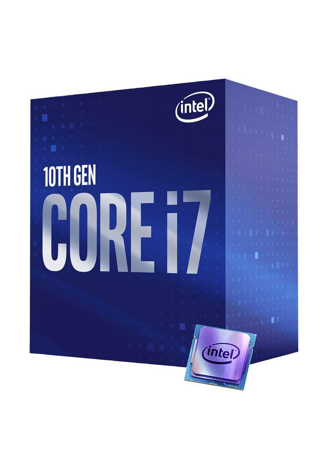 Intel Ci7 10700 CPU Processor Box  سيت معالج