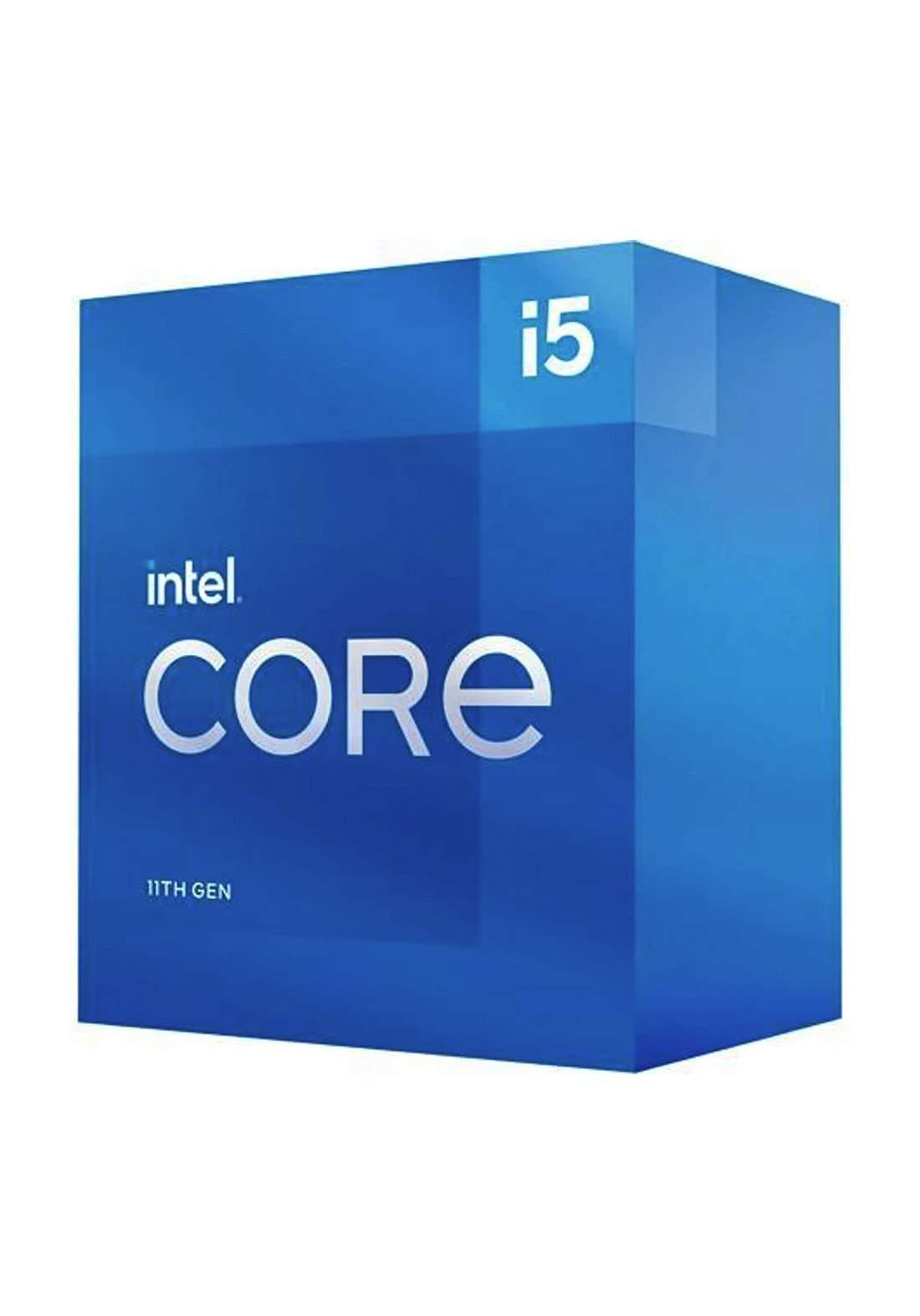 Intel Ci5 11400F CPU Processor Box  سيت معالج