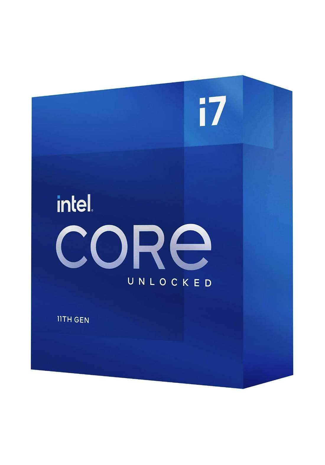 Intel Ci7 11700 CPU Processor Box  سيت معالج