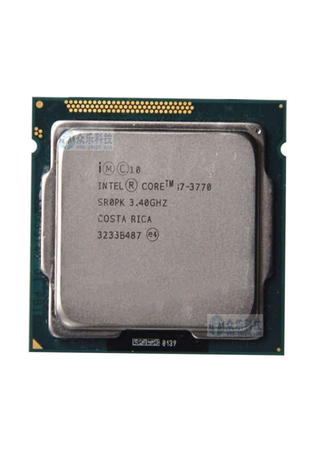 Intel Ci7 3770 Tray Packaging  Wholesale Processor معالج