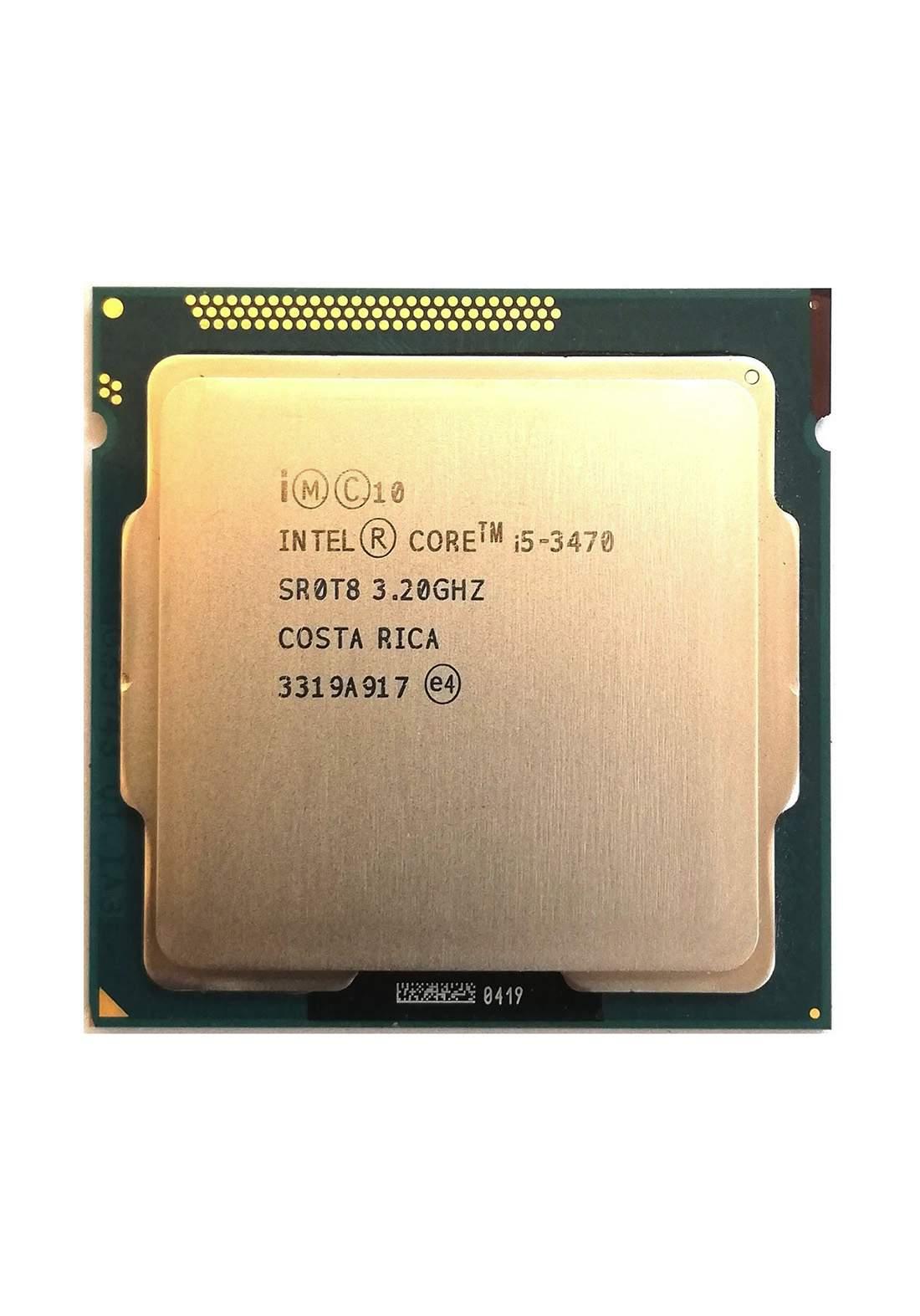 Intel Ci5 3470 Tray Packaging  Wholesale Processor معالج