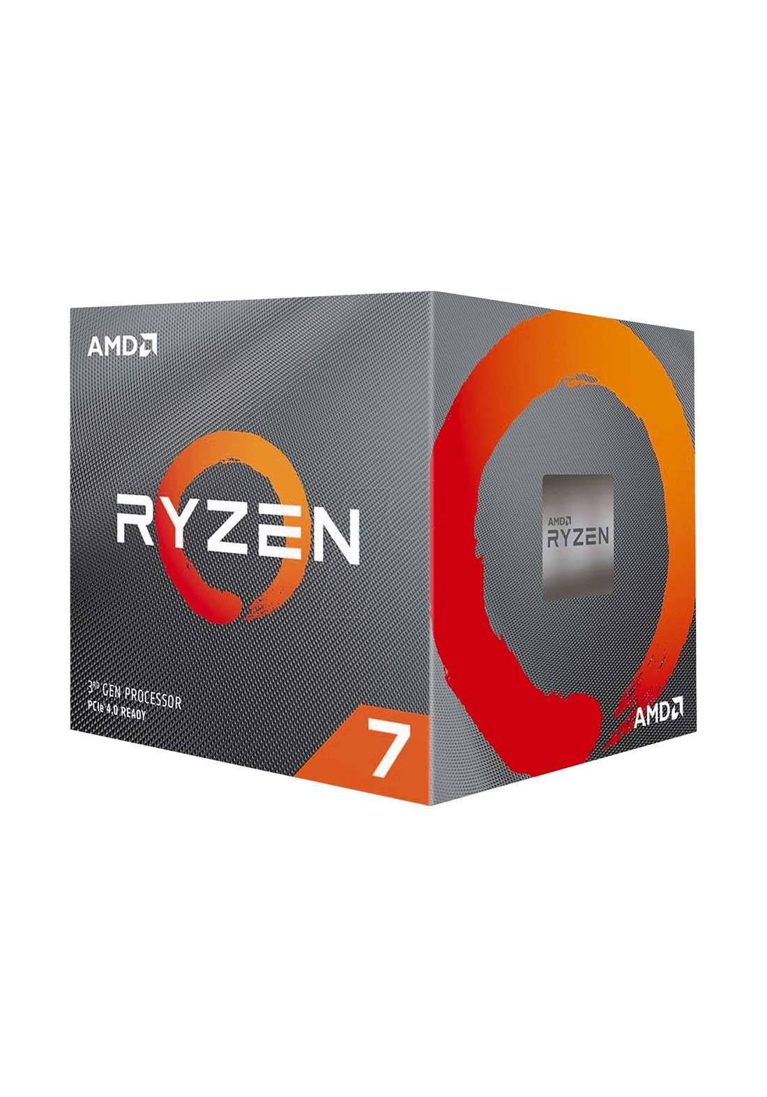 AMD R7 3700X  Desktop Processor Box سيت معالج