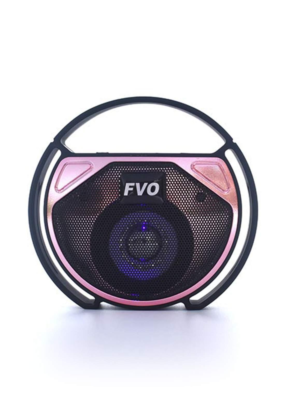 FVO BS-156 Bluetooth Speak - Black مكبر صوت