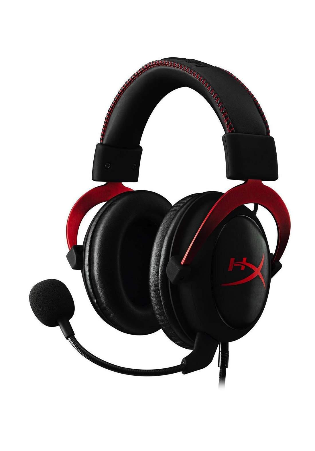 HyperX Cloud II Gaming Headset - Red سماعة رأس