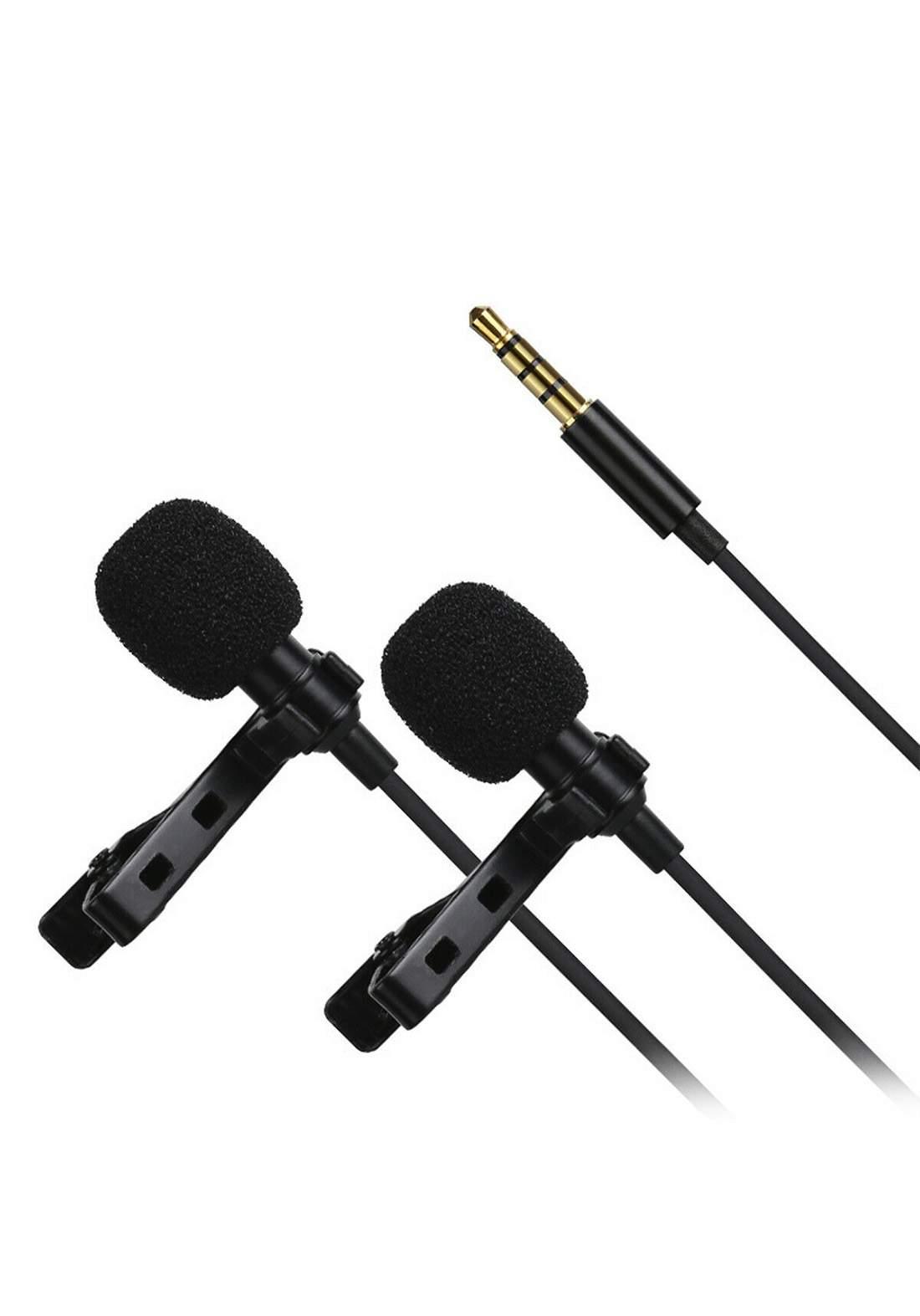 Moving Mic  Microphone Superlav Professional Omnidirectional -Black مايكروفون