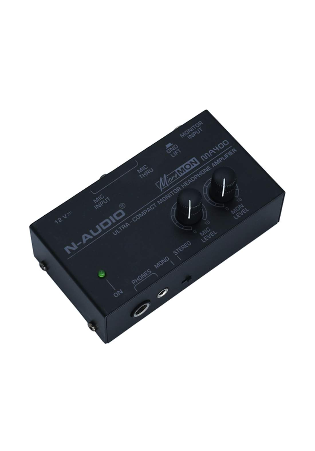 N-audio MA400 Monitor Headphone Amplifier-Black