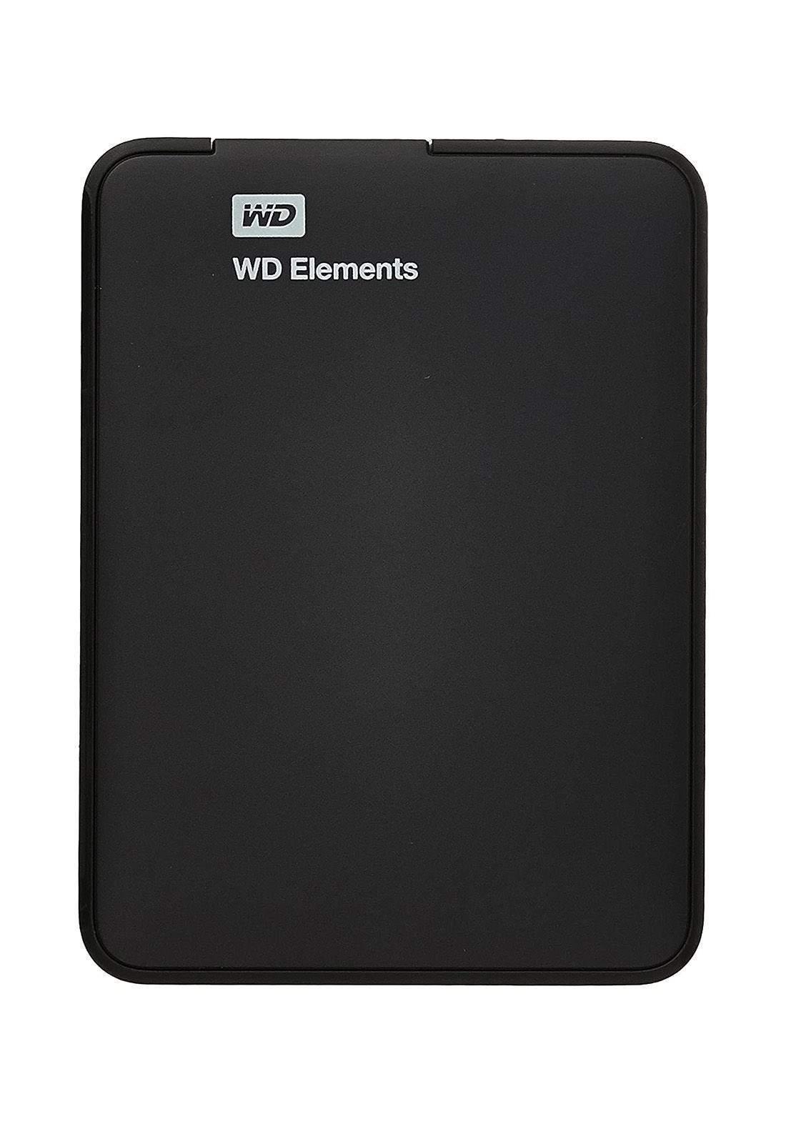 Wd Elements External HDD 2TB - Black هارد خارجي