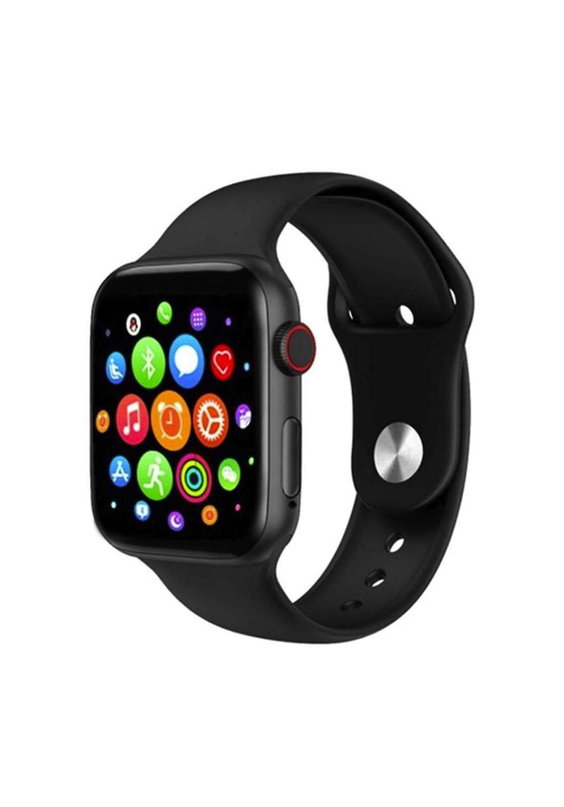 Smart Watch T500 - Black ساعة ذكية