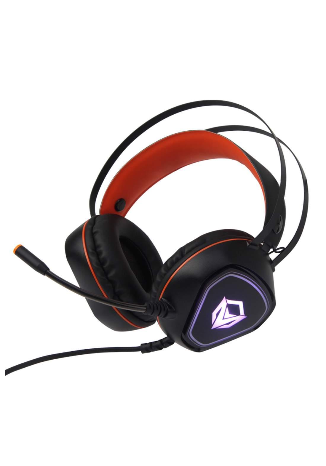 Meetion MT-HP020 Backlit Gaming Headset - Orange سماعة سلكية