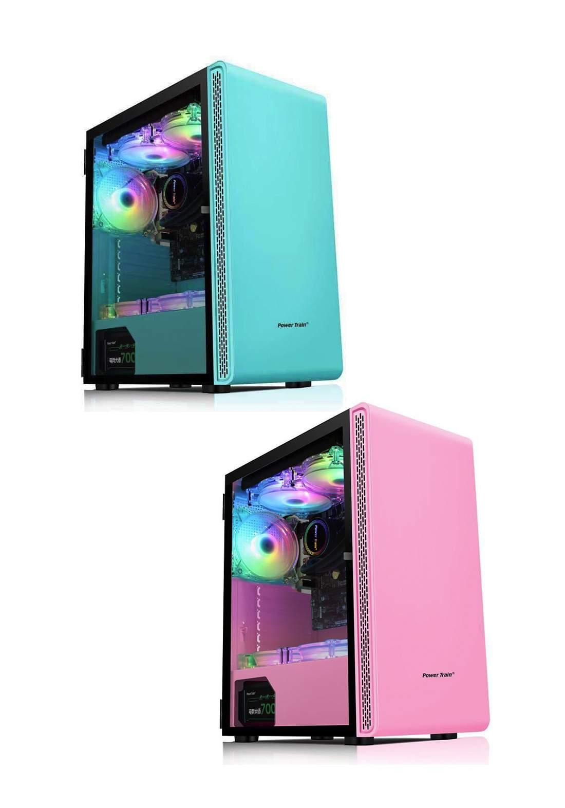 Power Train5 Gamer Atx Power Train Rain Daofeng 5 كيس حاسبة